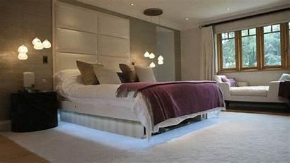 Tv Bedroom Bed Under Hiding Lift Hidden