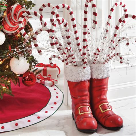 oversized santa boots the green head