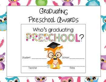 graduating preschool awards by aj bergs teachers pay 749 | original 3210063 1