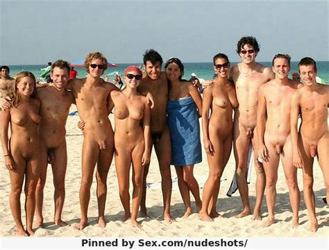 nude beach party nudeshots