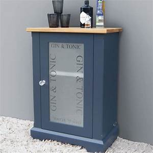 gin and tonic drinks cabinet in choice of colours by ...