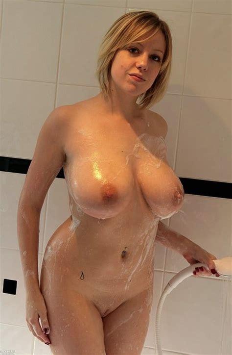 Hot Mom In Shower