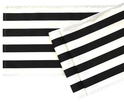 black and white table runners black and white striped table runner 108 quot contemporary