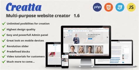 php website php scripts creatta multipurpose php website builder scripts nulled scriptznull nl