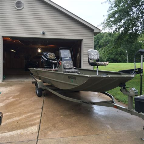 Grizzly Boats 1860 by 2011 Tracker Grizzly 1860 Cc Jon Boat For Sale In