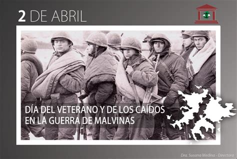 2 de Abril Día del Veterano y de los Caídos en la Guerra