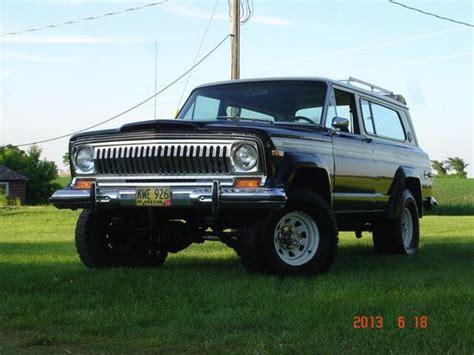 Buy Used 1977 Jeep Cherokee S Original Low Mileage