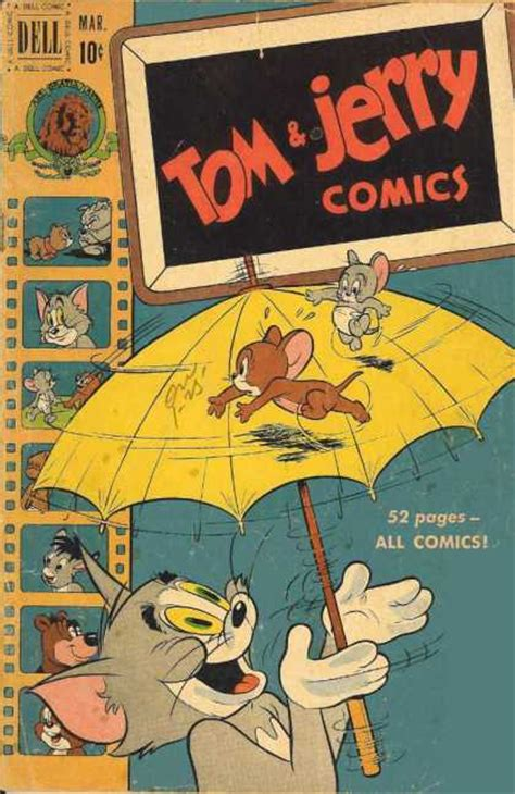Tom And Jerry Comics Covers 50 99