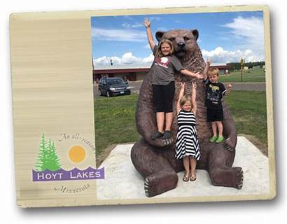 Hoyt Lakes Minnesota Chamber Bear