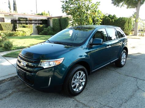2018 Ford Edge Sel Sport Utility 4 Door 3 5l