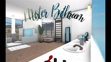 roblox bloxburg master bathroom speedbuild youtube