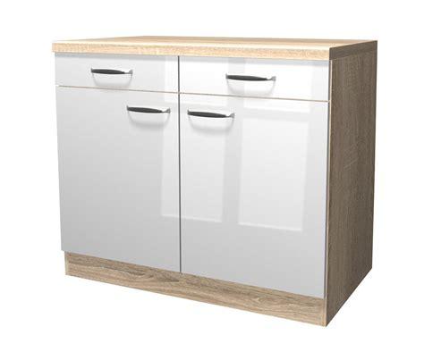 Küchen Unterschrank Schmal by K 252 Chen Unterschrank Venedig 2 T 252 Rig 100 Cm Breit
