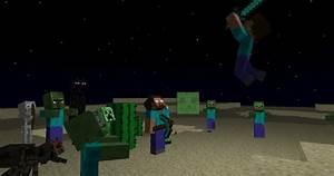 Gallery For > Minecraft Steve Vs Herobrine