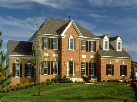Modern Style Homes by Modern American Colonial Style Homes Modern Colonial
