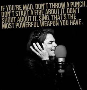 129 best gerard way quotes images on Pinterest | Band ...