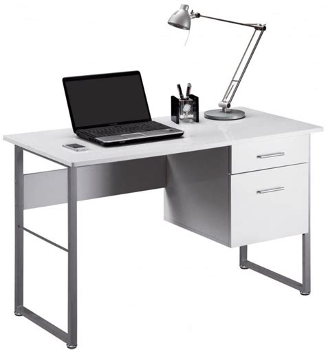contemporary computer desk white buy alphason cabrini white modern desk aw22226 wh online