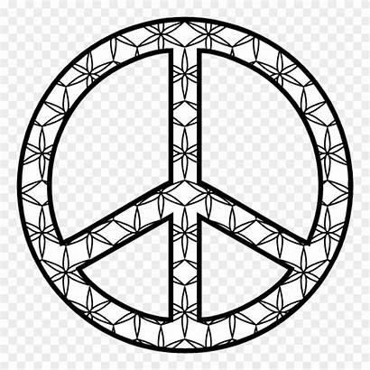 Peace Symbol Transparent Clipart Pinclipart Analog Nearest