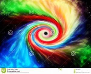 Colored Black Hole Royalty Free Stock Images - Image: 16218259