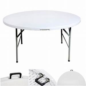 Table Pliante En Malette Ronde Diamtre 122cm
