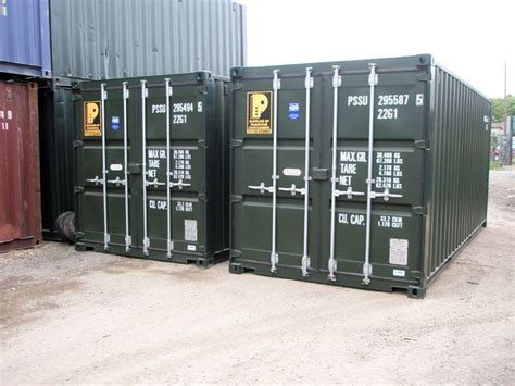 20ft New Shipping Container For Sale  'one Trip' Shipping