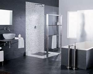 Deco Salle De Bain Gris : d co salle de bain en gris ~ Farleysfitness.com Idées de Décoration