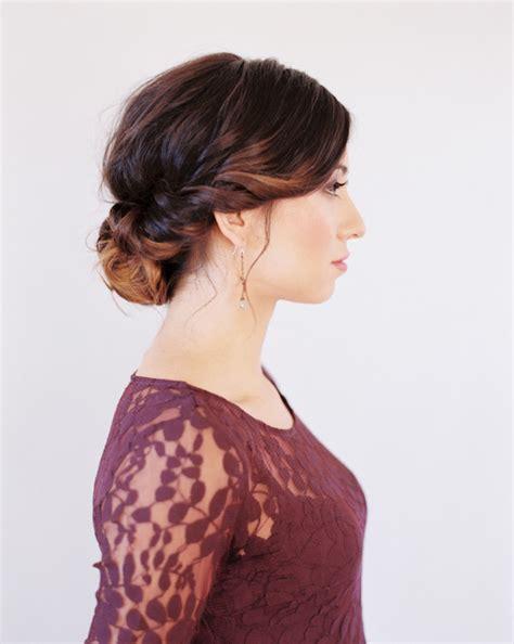 wedding hairstyles for medium hair tutorial once wed