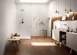 revetements muraux cuisine salle de bain douche marazzi With revetements muraux salle de bain
