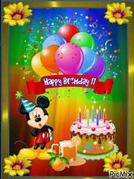 Disney Happy Birthday Wishes