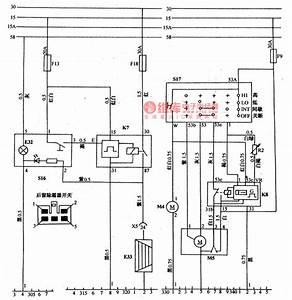 Daewoo Racer Car Rear Window Defroster Circuit Diagram