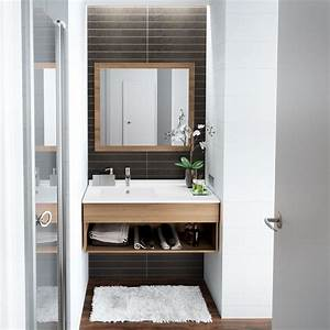 Petit Meuble Lavabo : meuble vasque etroit ~ Teatrodelosmanantiales.com Idées de Décoration