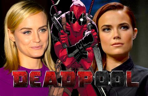 lead actress in deadpool 2 four in the mix for deadpool female lead includes