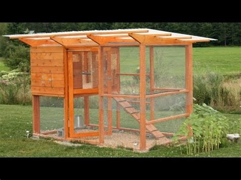 build  chicken coop hen house youtube