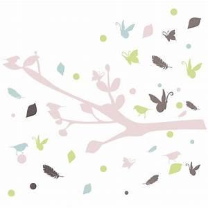 stickers oiseau With affiche chambre bébé avec livraison fleurs 24h 24