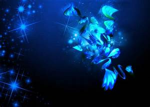 Black and Blue HD Wallpaper - WallpaperSafari