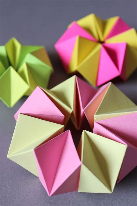 diy neon kaleidoskop origami diy origami and origami 746 | d14f4663ef51cecd18fdd6838c505654 origami shapes crafts for children
