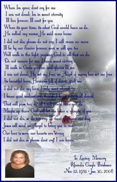 memory   mom  poem