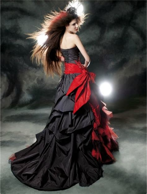black lace gothic wedding dress newhairstylesformen2014 com
