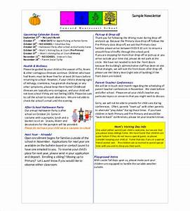 classroom newsletter template 9 free word pdf With free online newsletter templates pdf