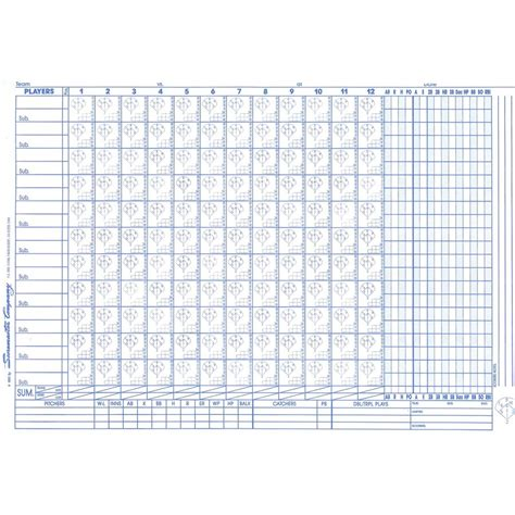 cs petersons scoremaster baseball softball scorebook