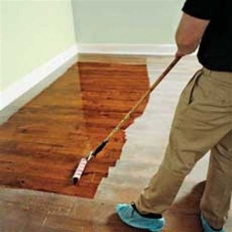refinish wood floors diy projects