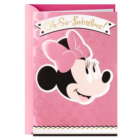 Maybe you would like to learn more about one of these? Disney Minnie Mouse Oh-So-Fabulous Mother's Day Card - Greeting Cards - Hallmark