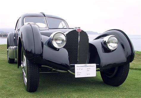 Overviews 1936 Bugatti Type 57sc Atlantic History