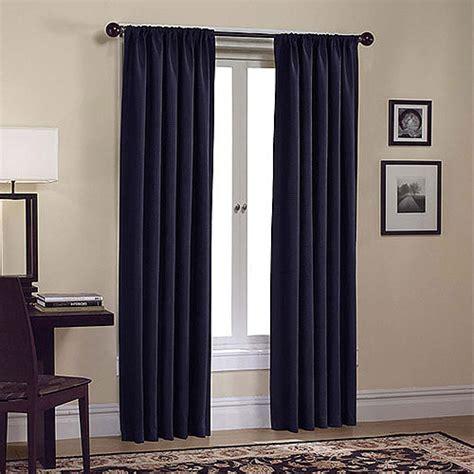 waffle weave design window curtain navy decor walmart