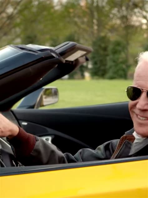 joe bidens ridin   corvette stingray   bumper