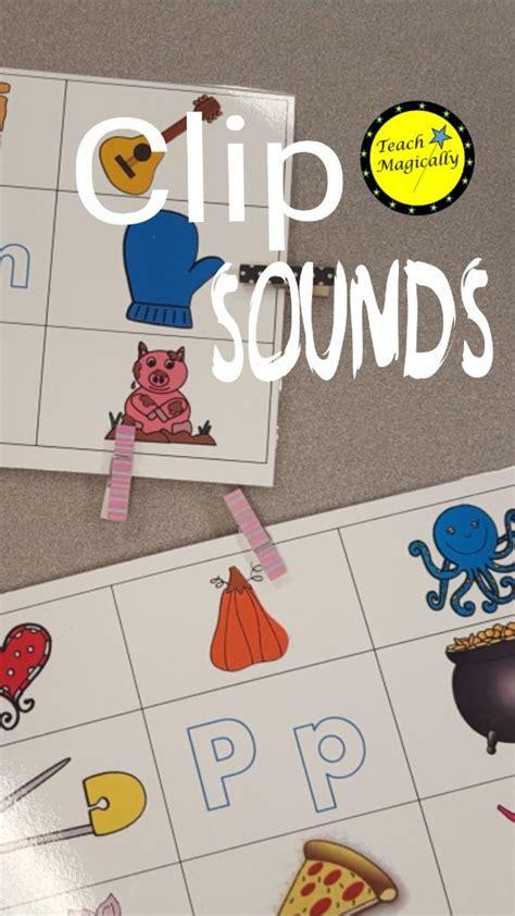 beginning sound bundle clip cards  worksheets