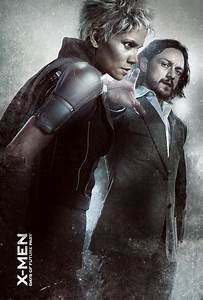 X-Men Days of Future Past Poster - Storm and Professor X ...
