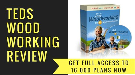 teds woodworking review  diy woodworking project