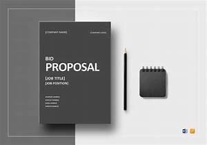 Cleaning Proposal Template Word 12 Bid Proposal Templates Sample Templates