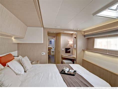 freedom luxury charter sailing catamaran guest cabin