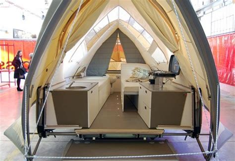 extreme camping    open air accommodations